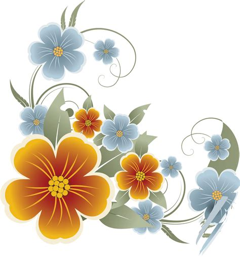 design flower with vector flower vectors various png my blog