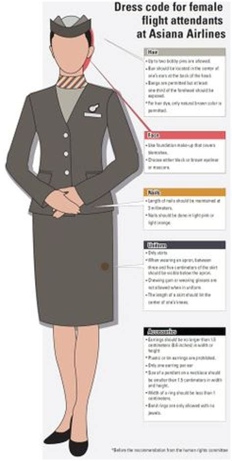 Dress Code For Cabin Crew by On Air Flight Attendant And