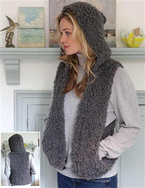 knitted gilet pattern free vests knitting patterns