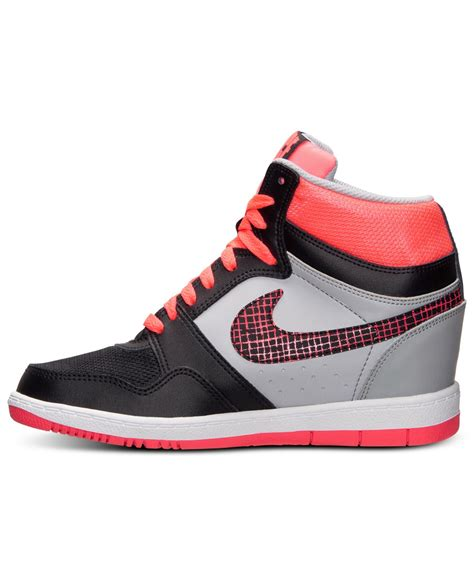 nike sky high sneakers nike s sky high casual sneakers from finish