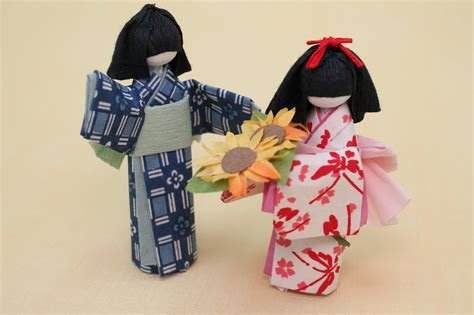 How To Make Origami Dolls - paper craft knits by sachi