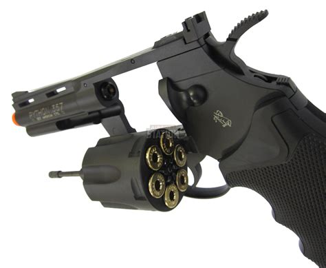 Airsoft Gun Revolver colt python 4 quot 357 magnum metal co2 airsoft revolver