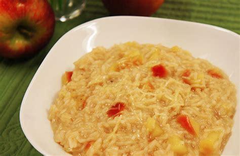 apple risotto carolina apple risotto the fluffy long grain rice