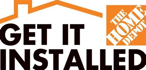 home depot installation services