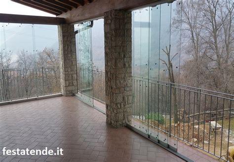 vetrate per terrazzi chiusure in vetro per terrazzi