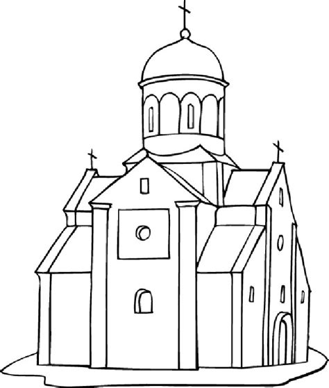 free coloring pages of notre dame cathedral