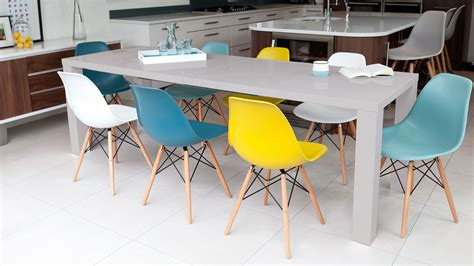 yellow and grey check chair get fruity with brightly coloured kitchen dining chairs