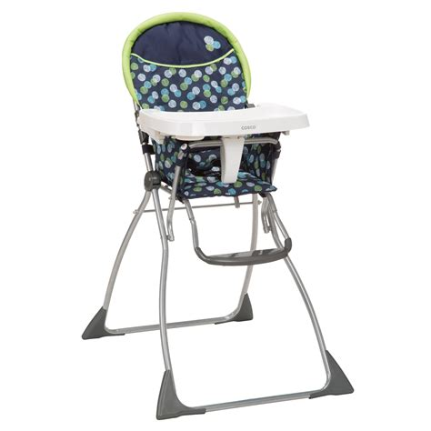 Cosco Folding High Chair by Cosco Folding Highchair Metro Dot Baby Baby Feeding