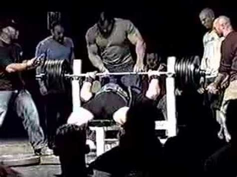 world bench press record raw video scot mendelson 715 raw bench press world record