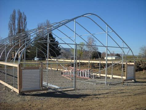 hoop house kits 25 best ideas about commercial greenhouse kits on pinterest commercial greenhouse