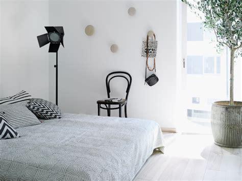 monochrome bedroom decordots black and white and grey