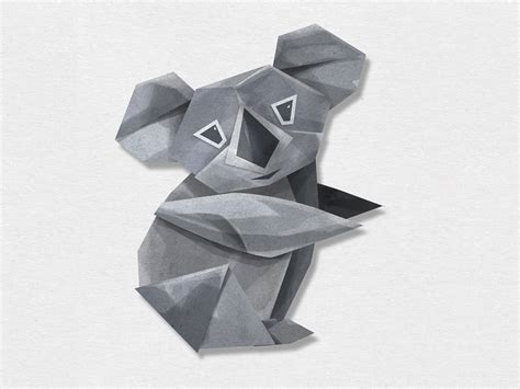 How To Make A Origami Koala - origami koala choice image craft decoration ideas