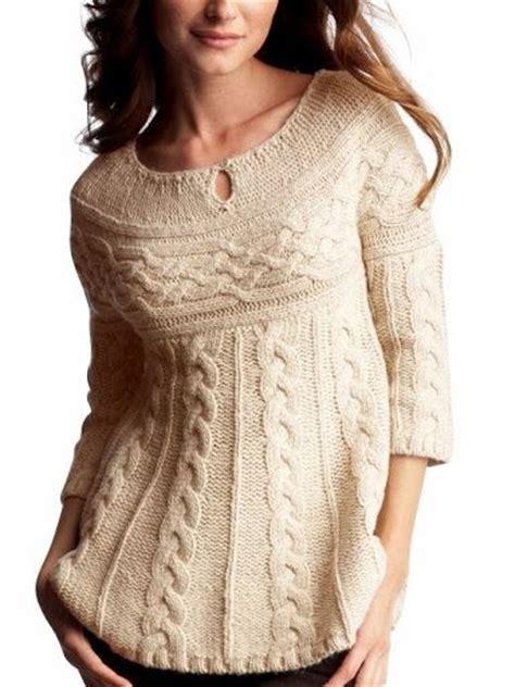 Melanie Tunik mar 237 a cielo sweaters con trenzas