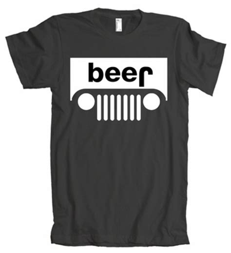 jeep beer shirt scott herrick did you know jeep upside down is beer
