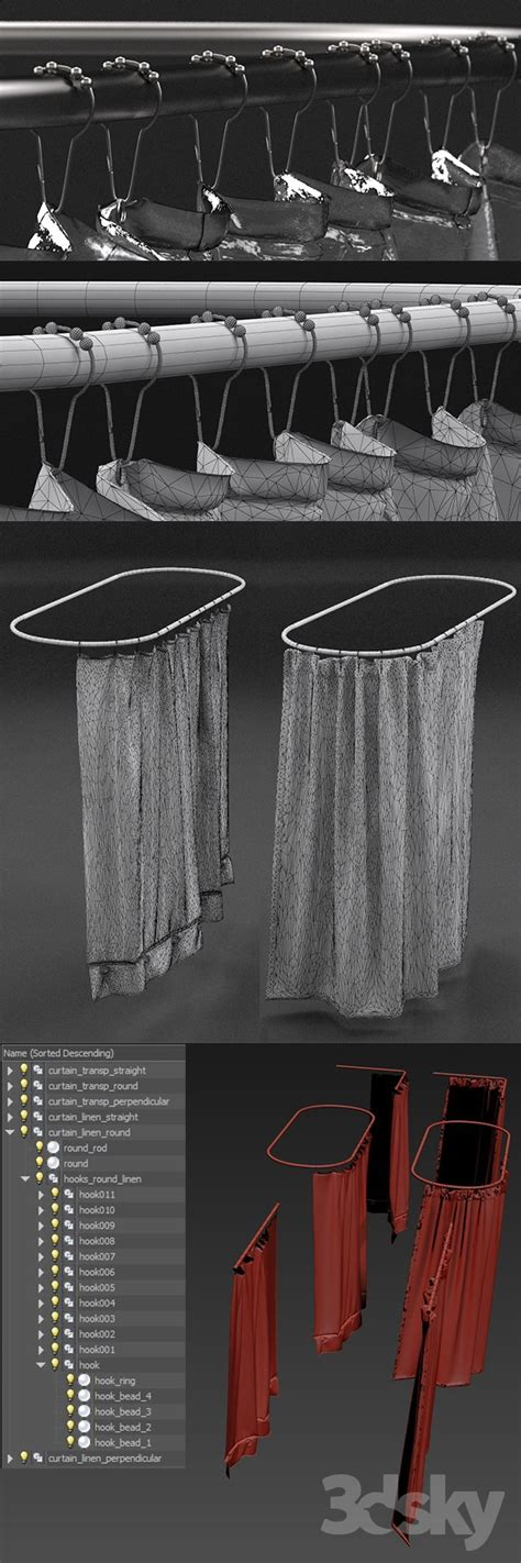 3d Models Bathroom Accessories Restoration Hardware 3d Models Bathroom Accessories Curtains For Shower From