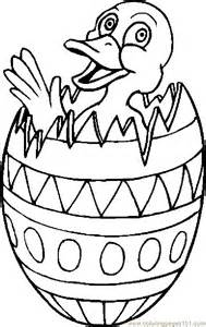 coloring pages duck in easter egg 1 entertainment gt holidays free printable coloring page online