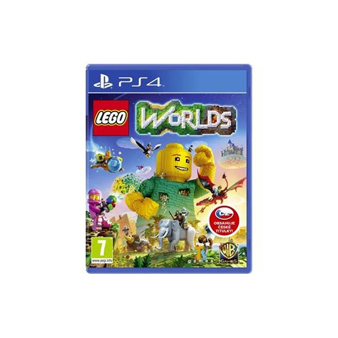 Ps4 Playstation 4 Lego Worlds lego worlds ps4 hra electroworld cz