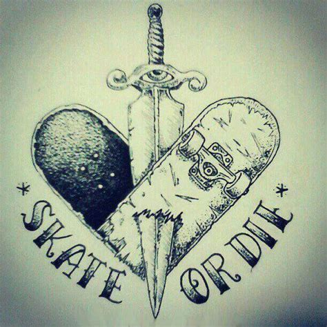 skateboard tattoo designs 41 best skateboarding tattoos images on