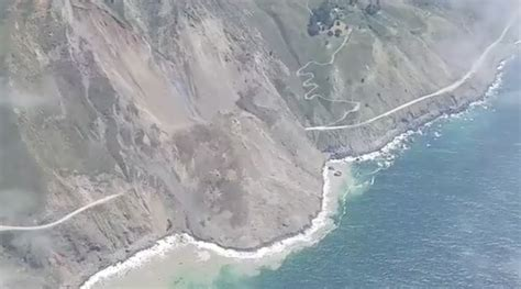 Pch Closures - pacific coast highway closed after mother nature has large bowel movement gomerblog