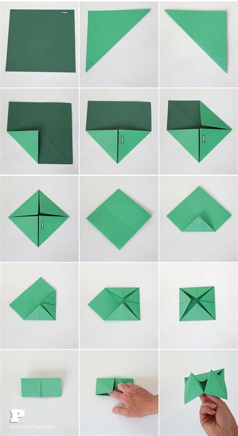 How To Fold Origami Fortune Teller - best 25 origami fortune teller ideas on