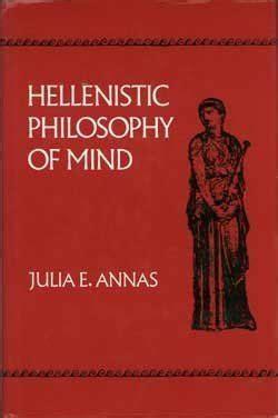 libro hellenistic philosophy of mind di julia annas