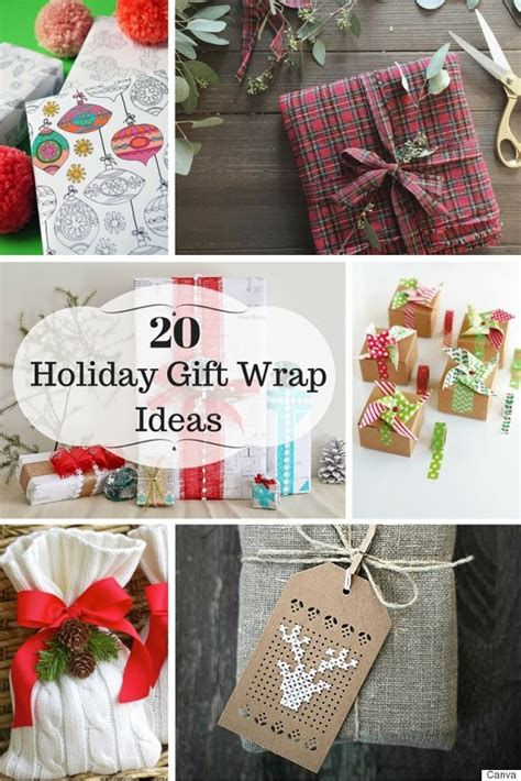 20 holiday gift wrapping ideas for all shapes and sizes