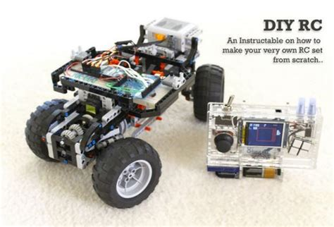 lego rc tutorial how to build a diy arduino remote control and lego rc