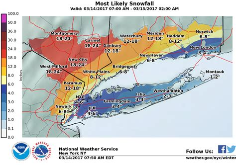 snow forecast map updated forecast shows parts of n j getting heavy snow some being slammed with sleet nj