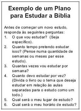 Como devo estudar a Bíblia?