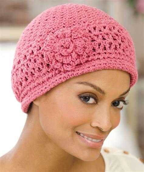 hat pattern pinterest red heart 174 chemo cap crochet pattern