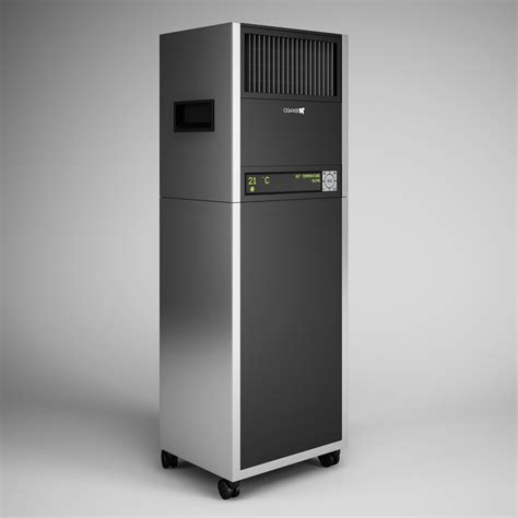 Ac Portable Standing 3ds max standing air conditioner 06