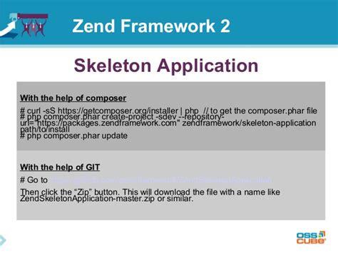 zend framework 2 layout footer zend framework 2