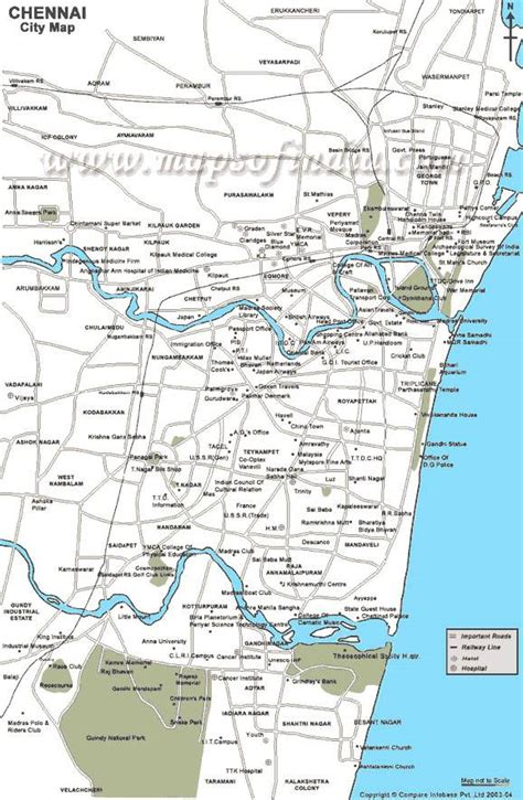 printable chennai road map large chennai maps for free download and print high