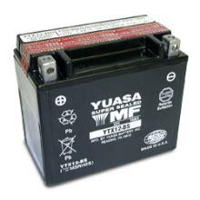 Motorradbatterie Kawasaki Z750 by Batterie Moto Yuasa Ytx12 Bs 233 Tanche 12v 10ah