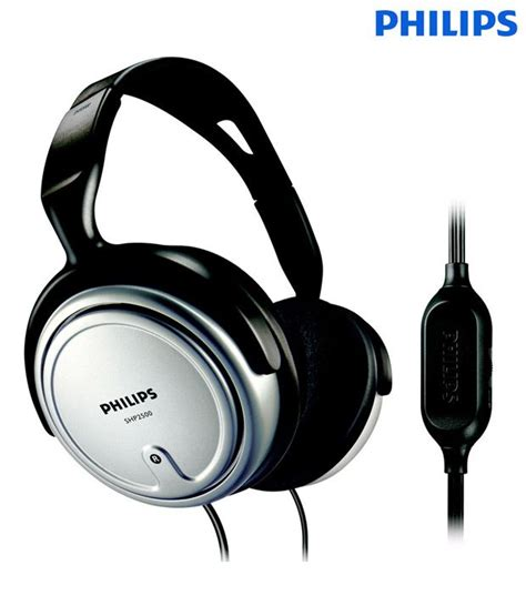 best corded headphones 100 buy philips shp2500 corded tv audio headphone on snapdeal