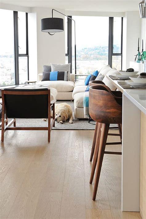 kurf walnut counter stool modern wood bar stools home decorating trends homedit