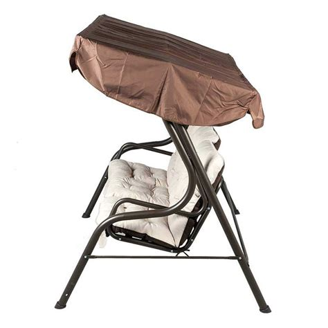 swing seat sale glendale bronze swing seat with white cushions on sale