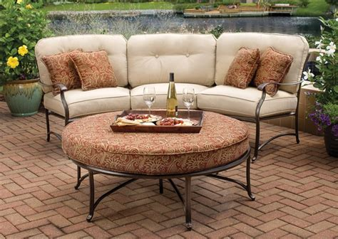 Curved Patio Furniture Set Outdoor Patio Furniture Chairs Tables Dining Sets Housewarmings