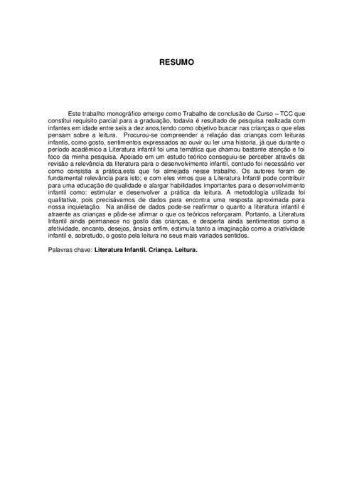 Abnt Tcc Como Requisito Parcial Para Obtenção Do Grau Mba by Monografia Pedagogia 2012