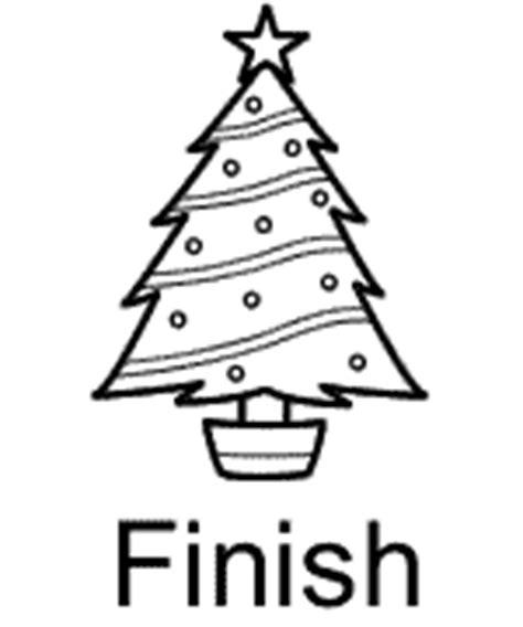 christmas easy maze worksheet gift and christmas tree