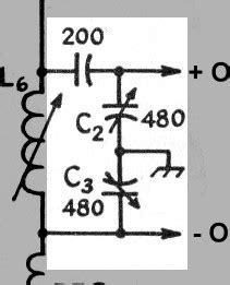 capacitive voltage divider microchip the aa8v 6x2 superheterodyne receiver mixer schematic diagram and circuit description