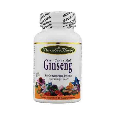 Suplemen Ginseng by Paradise Herbs Panax Ginseng Energy Supplement 1190875