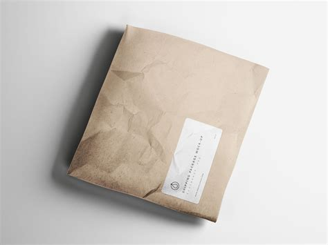 package design mockup shipping package mockup