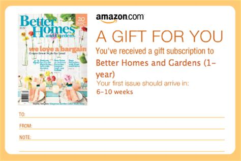 Amazon Gift Card Renewal - last chance 5 magazine subscriptions the peaceful mom