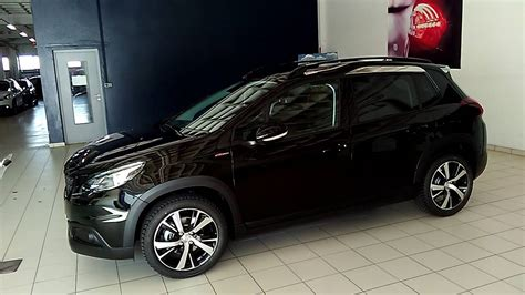peugeot 2008 black peugeot 2008 gt line youtube