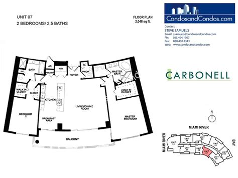 carbonell brickell key floor plans carbonell brickell key miami condos for sale