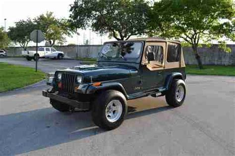 31 Tires For Jeep Wrangler Find Used 1993 Jeep Wrangler Auto 31 Inch Tires