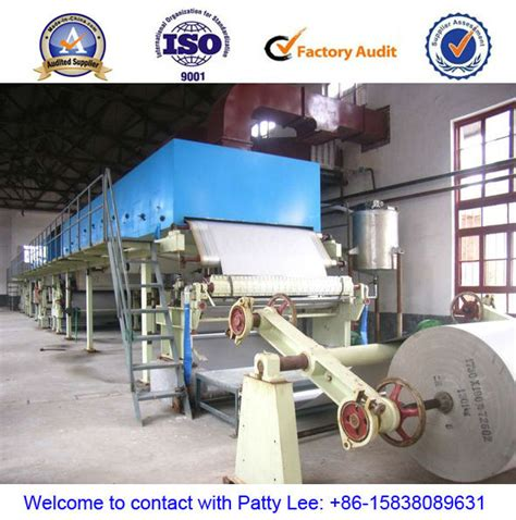 How To Make Paper From Sugarcane Waste - selling paper machine width 1092mm 5 t