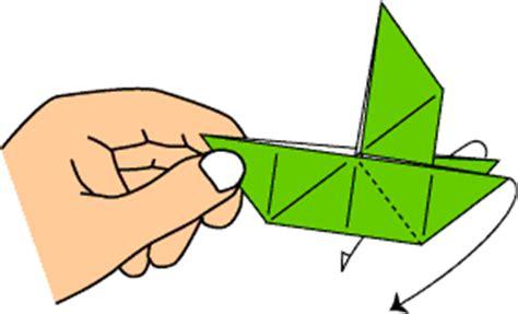 origami boat trick sailboat variation 2 let s make origami exploring