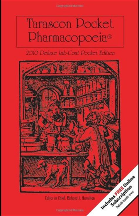 tarascon pocket pharmacopoeia 2018 deluxe lab coat edition books kawillits just launched on usa marketplace pulse